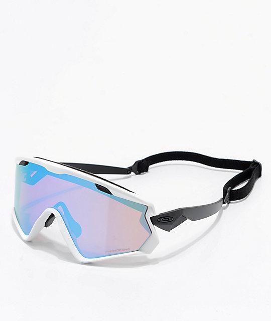4f885cc70753 Oakley Wind Jacket 2.0 Matt White   PRIZM Snow Sapphire Iridium Sunglasses