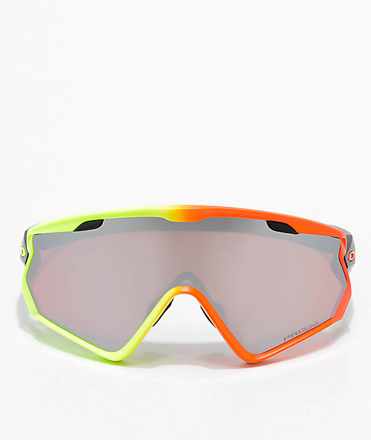 Oakley Wind Jacket 2.0 Harmony Fade PRIZM Snow Black Iridium Sunglasses