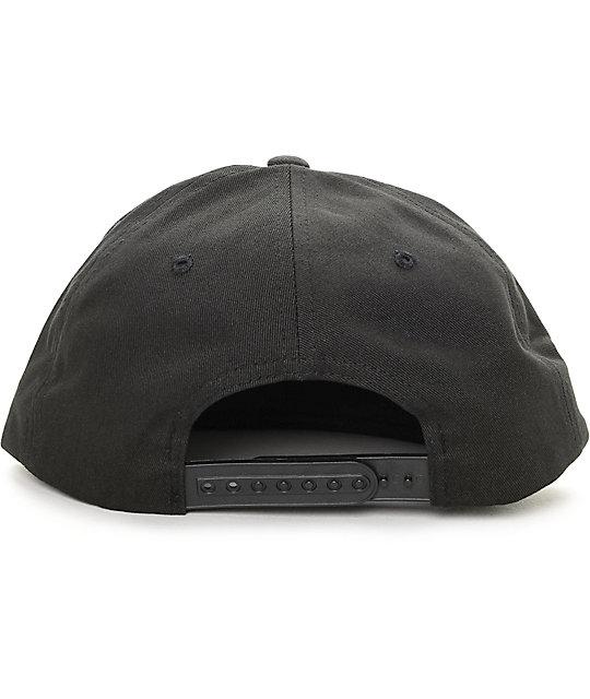 8f4790f02071c1 Obey 89 Company Black Snapback Hat | Zumiez.ca