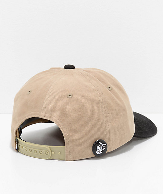 Obey 90s Jumble Khaki & Black Six Panel Hat