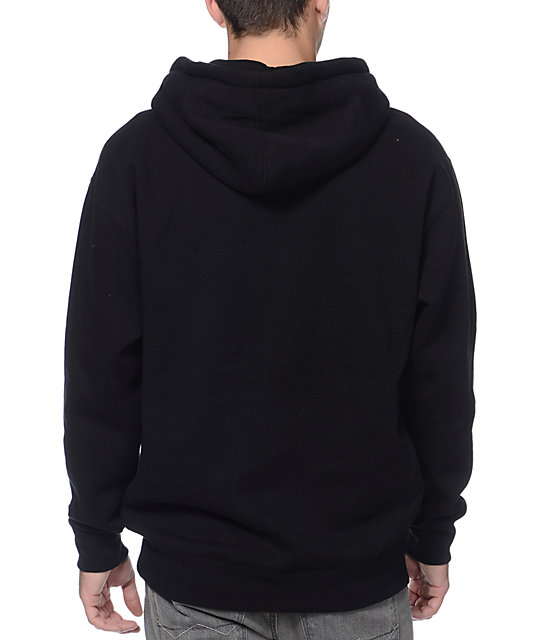 Obey All City League Black Pullover Hoodie