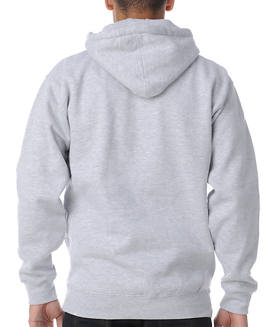 Obey All City Original Heather Grey Pullover Hoodie