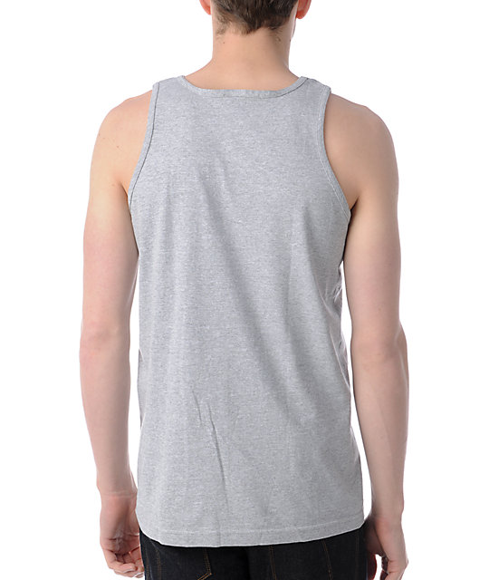 Obey Athletics Heather Grey Tank Top
