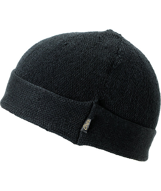 Obey Atlantic Black Beanie