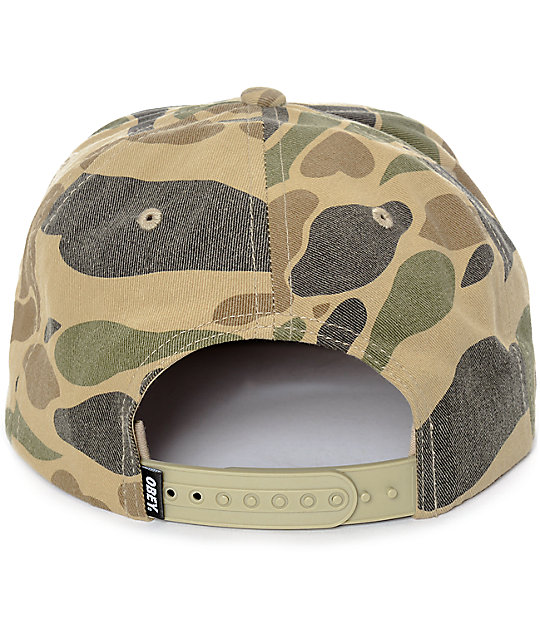 Obey Bless gorra snapback camuflado