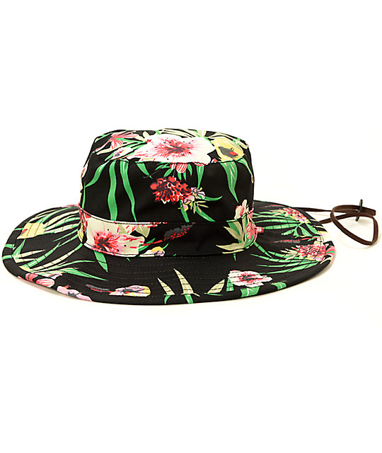 505b6df0c58 Obey Boonts Floral Fisherman Hat