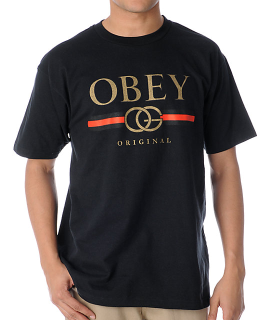 Obey Bootleg Black T-Shirt