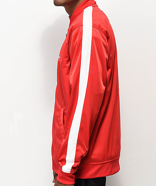 Obey Borstal Red Track Jacket