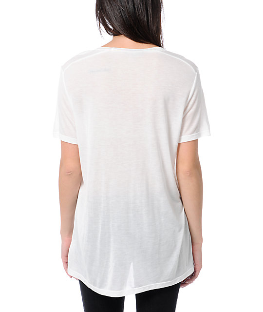 Obey Bryan Proteau Elevations White Beau T-Shirt