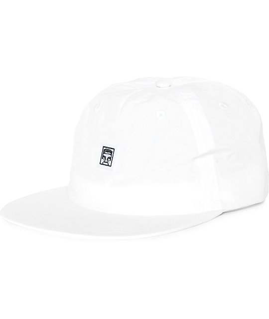 Obey Burke Unstructured Hat