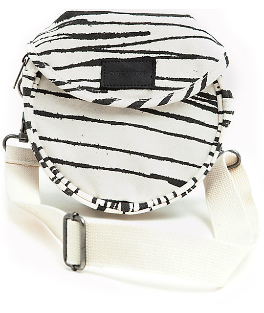 Obey Canteen White Sling Bag