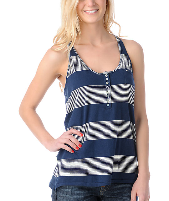 Obey Cape Cod Twisted Tank Top