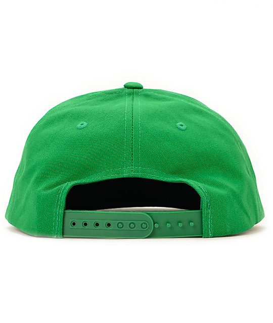 Obey Capitol Kelly Green Snapback Hat