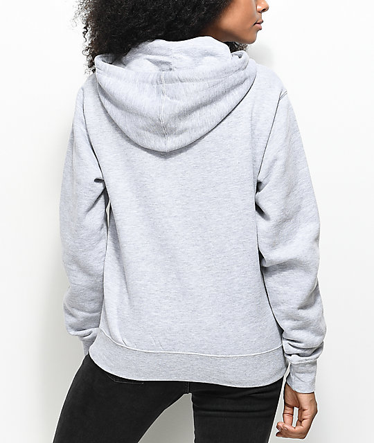 Obey Careless Whispers Grey Hoodie