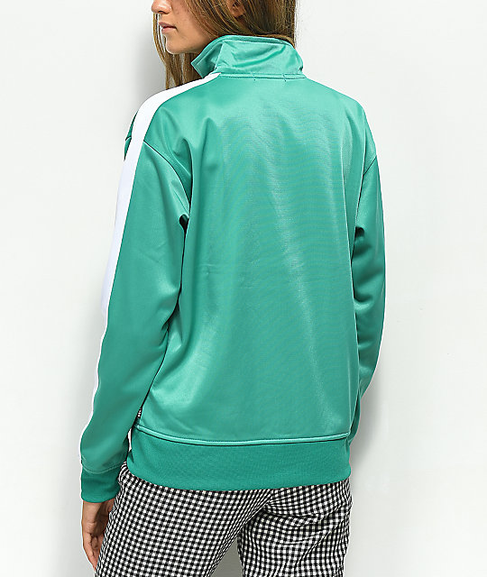 Obey Cashed Out Mallard Zip Up Track Jacket