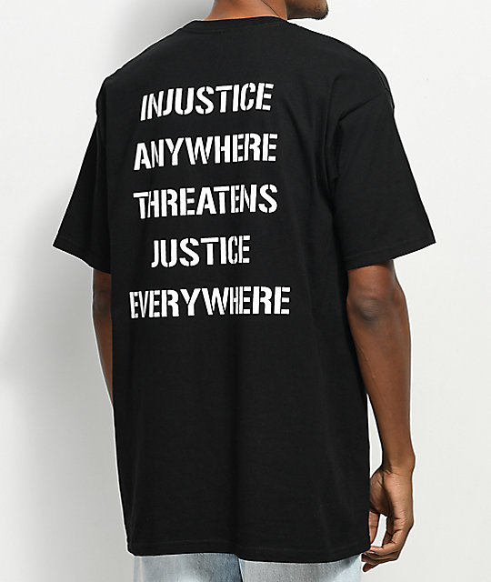Obey Civil Disobedience camiseta negra