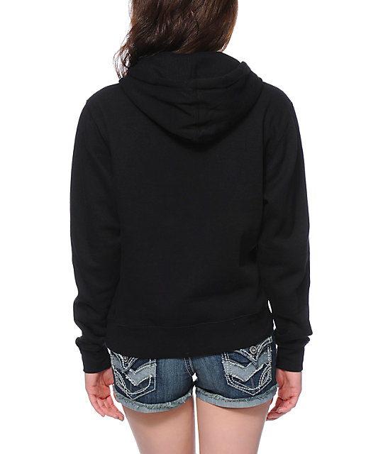 Obey Collage Black Pullover Hoodie