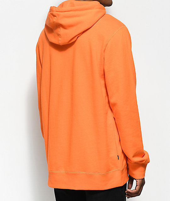Obey Corsaire Orange Pullover Hoodie