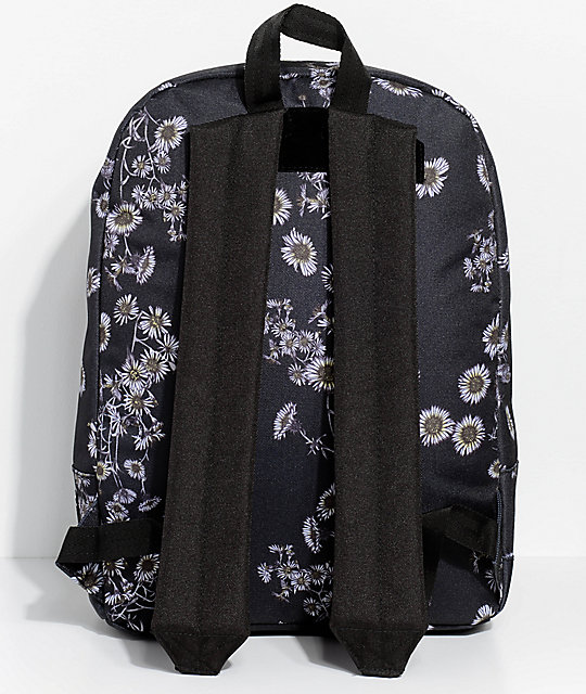 Obey Dag Daisy Black Backpack