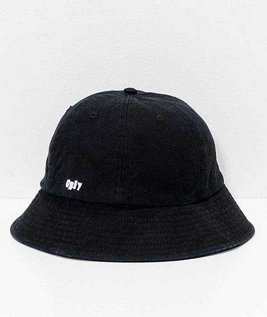 63cf3e537f442 Obey Decades Black Bucket Hat