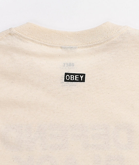 Obey Defend Black Lives 2 Natural T-Shirt