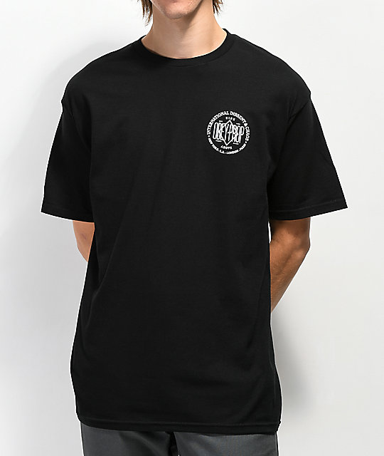 Obey Dissent & Chaos Black T-Shirt