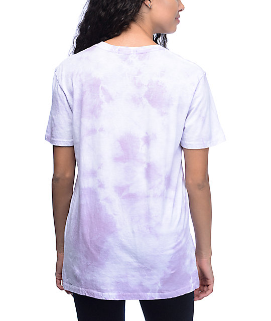 Obey Distressed Dewallen Lavender T-Shirt