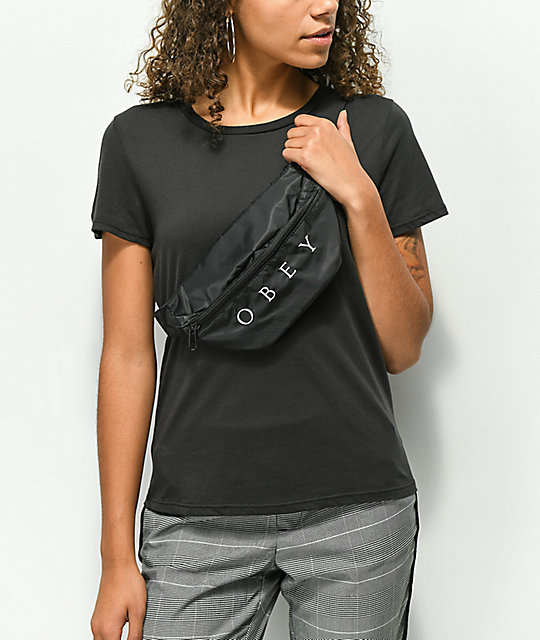 Obey Womens Drop Out Sling Bag Waistpack