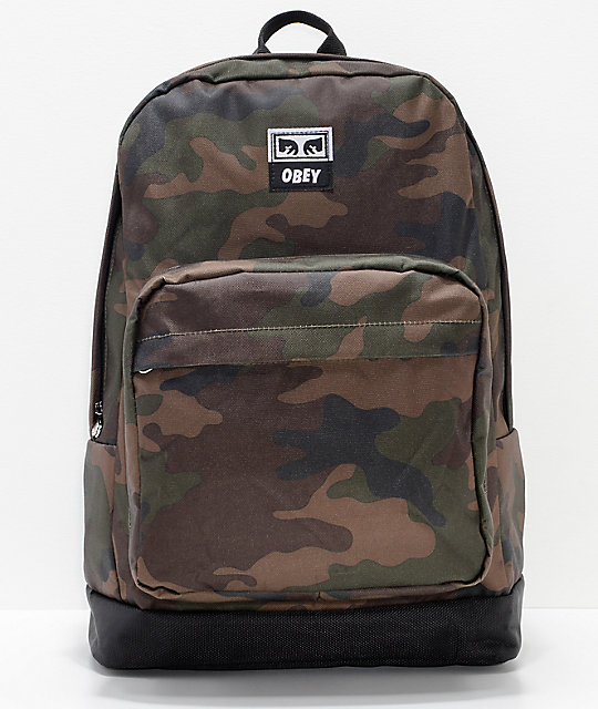 Obey Dropout Juvee Field Camo Backpack