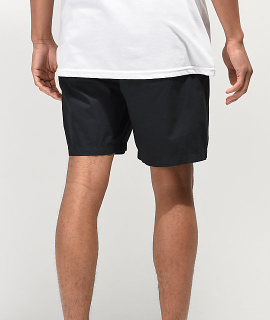 Obey Easy Black Shorts