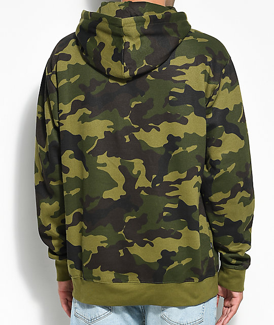 Obey Ennet Anorak Camo Hoodie