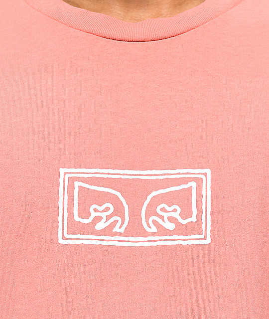 Obey Eyes Dusty Coral T-Shirt