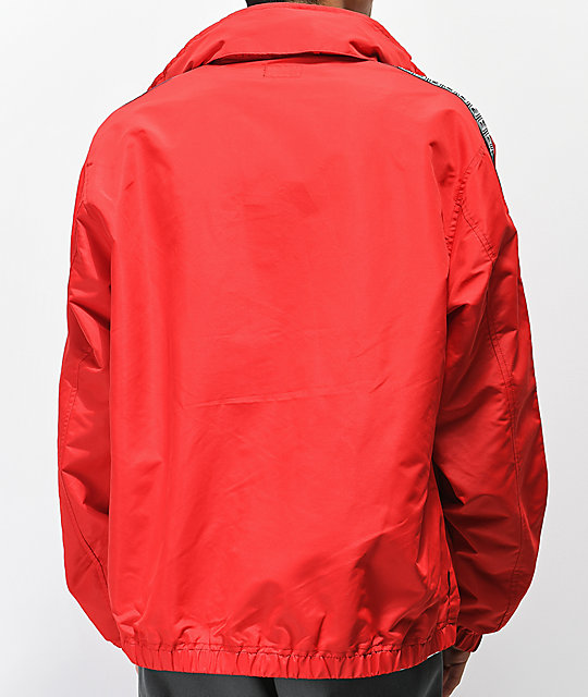 Obey Eyes Red Track Jacket
