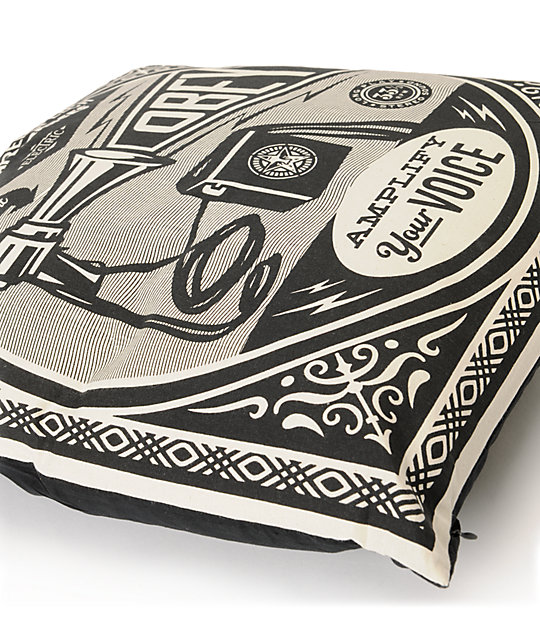 Obey Free Speech Pillow