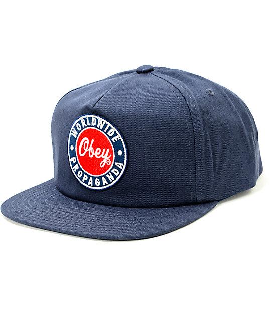 aff32cb28150e Obey Heyday Snapback Hat