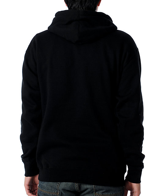 Obey High Life Black Pullover Hoodie