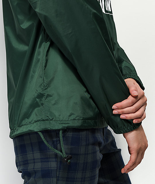 Obey International 2 Green Anorak Jacket