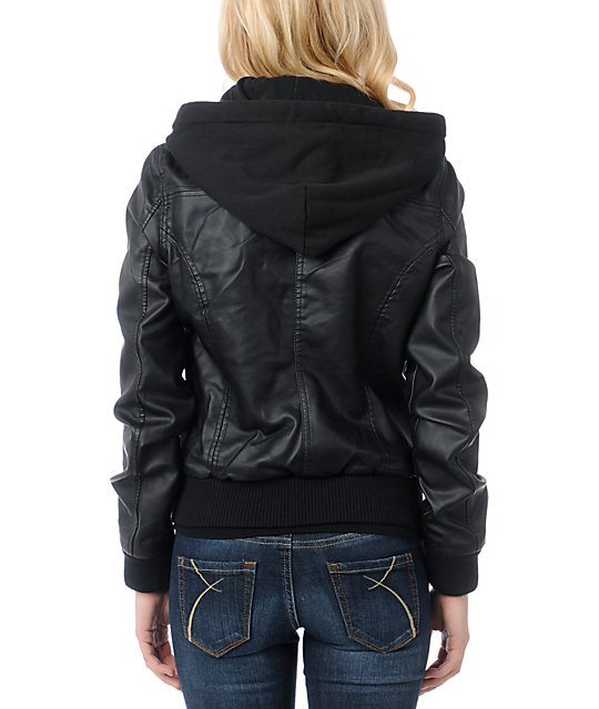 Obey Jealous Lover Black Bomber Jacket