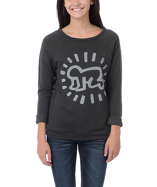Obey Keith Haring Radiant Baby Crew Neck Sweatshirt
