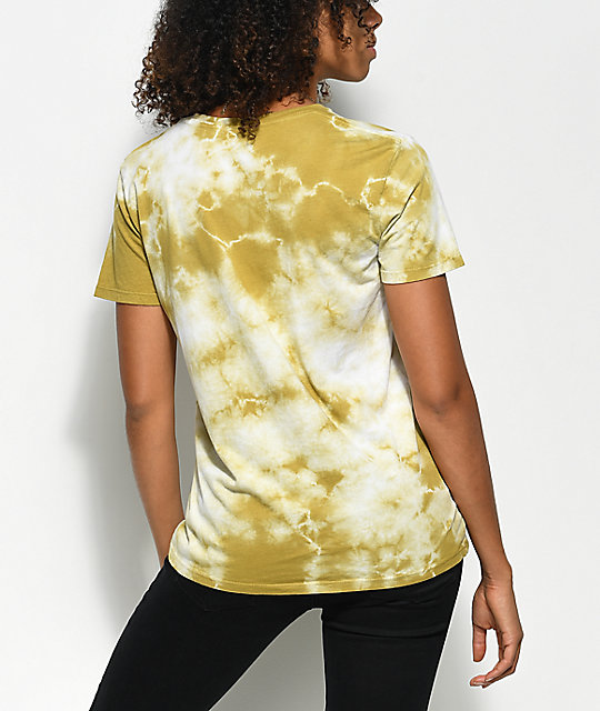 Obey Labour Of Love Avocado camiseta con efecto tie dye