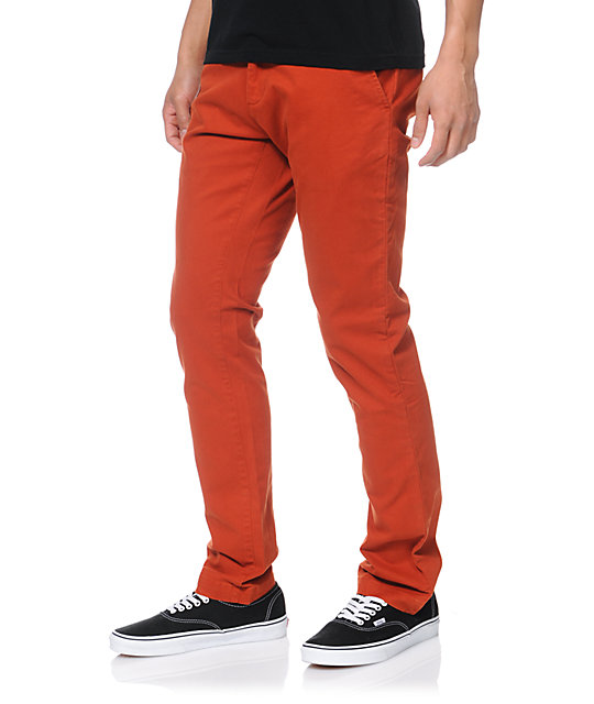 Obey Layover Picante Slim Fit Chino Pants