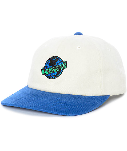 Obey Love Child gorra snapback en azul