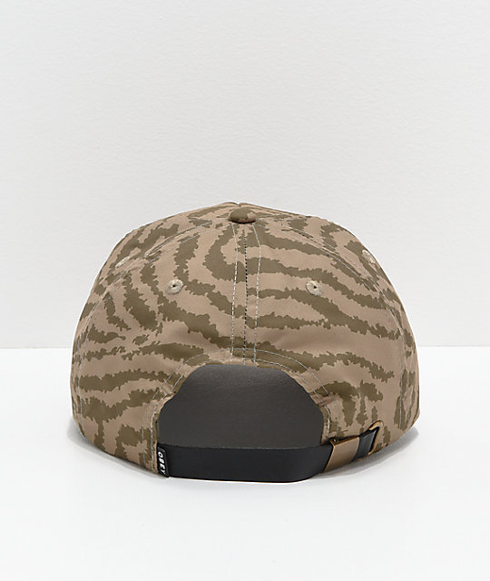 Obey Mad River gorra caqui