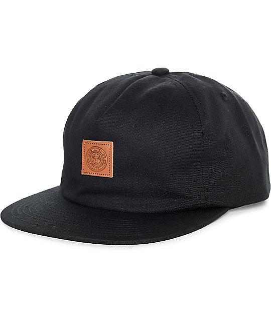 Obey Mega gorra strapback negra (hombre)  d9773ba8921