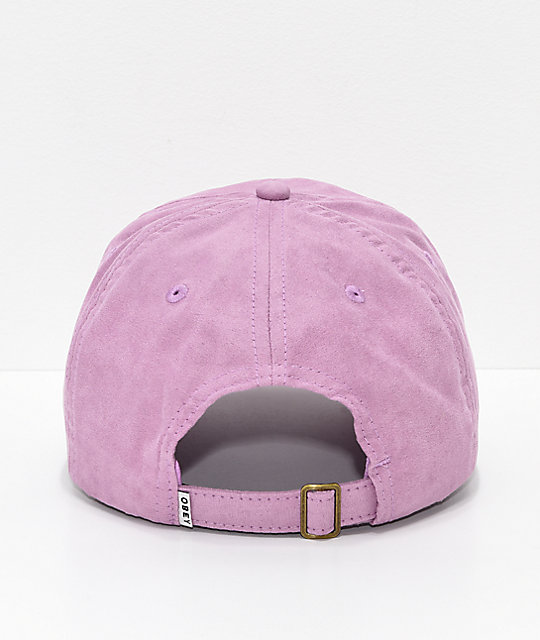 Obey Michelle Orchid Strapback Hat