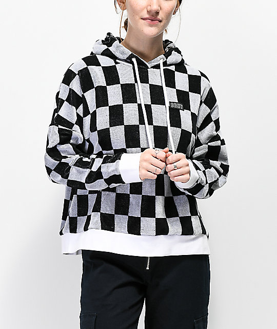 Obey Mind Games Checkered Hoodie