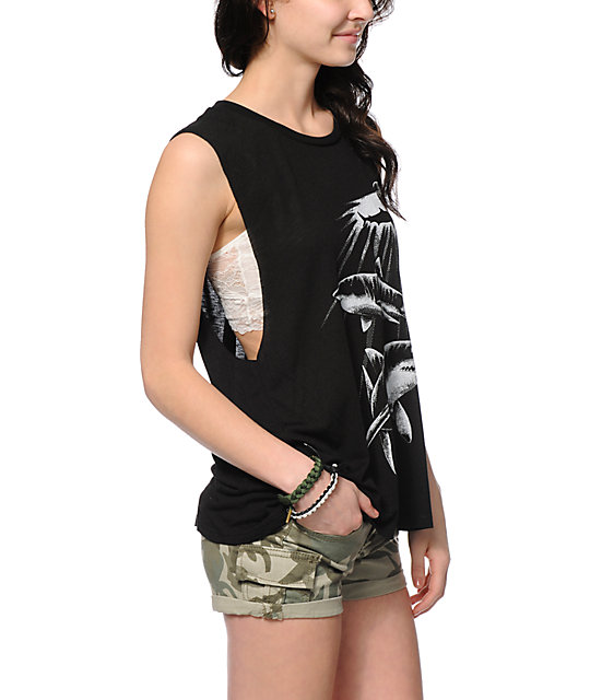 Obey Never Sleep Muscle Tank Top