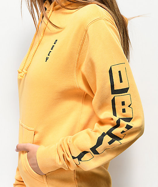 Obey New World 2 Autumn sudadera con capucha