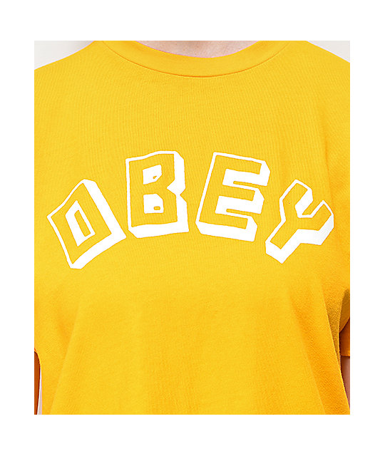 Obey New World Choice Autumn camiseta