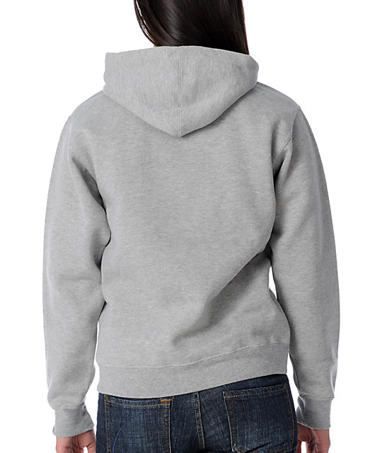 Obey Night Owls Grey Pullover Hoodie